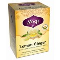 YOGI TEA LEMON GINGER WELLNESS TEA 16