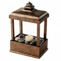 HOMEDICS ENVIRASCAPE LANTERN MIST CANDLELIT RELAXATION FOUNTAIN