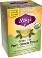 YOGI TEA SIMPLY GREEN REDUCED CAFFEINE TEA 16