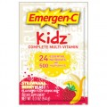 EMERGEN C KIDS STRAWNANABERRY BLAST 30 PACKS PER BOX