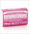 DR. BRONNER'S ORGANIC ROSE BAR SOAP