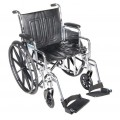 CHROME SPORT WHEELCHAIR 18
