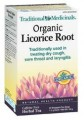 TRADTIONAL MEDICINALS ORGANIC LICORICE ROOT TEA 20 BAGS
