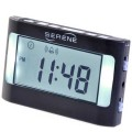 SERENE TRAVELLING ALARM CLOCK FOR BEDSTAND OR CLIP ON TO PILLOW