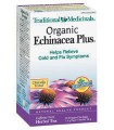 TRADITIONAL MEDICINALS ORGANIC ECHINACEA PLUS TEA 20 BAGS