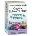 TRADITIONAL MEDICINALS ORGANIC ECHINACEA ELDER TEA 20 BAGS